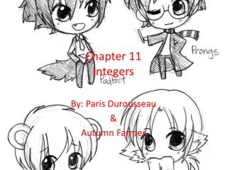Chapter 11 Integers