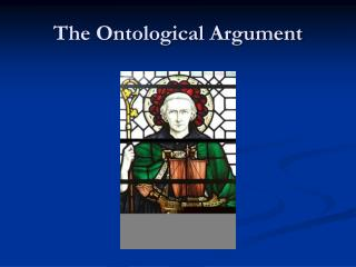 an introduction to the ontological argument on the possible existence of a deity Introduction to the philosophy of religion 2  the ontological argument  evidences of the existence and attributes of the deity.