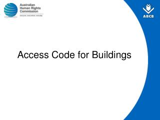 Access Code for Buildings