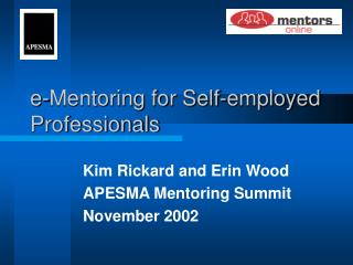 e-Mentoring for Self-employed Professionals