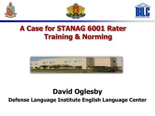 David Oglesby Defense Language Institute English Language Center