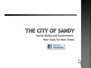 The City of Sandy