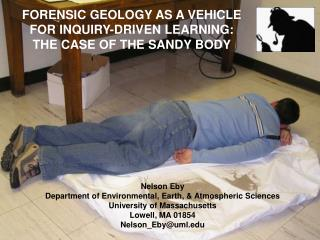 Nelson Eby Department of Environmental, Earth, & Atmospheric Sciences University of Massachusetts