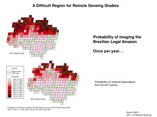 A Difficult Region for Remote Sensing Studies