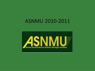 ASNMU 2010-2011