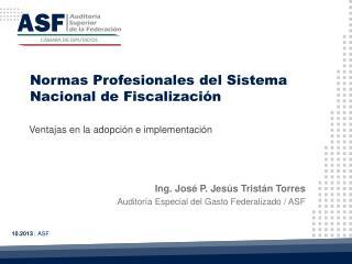 Normas Profesionales del  Sistema  Nacional  de  Fiscalización