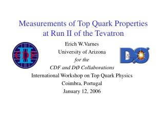 Measurements of Top Quark Properties at Run II of the Tevatron