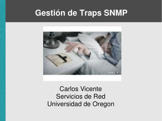 Gestión de Traps SNMP