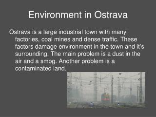 Environment in Ostrava