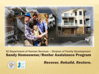 NJ Department of Human Services – Division of Family Development