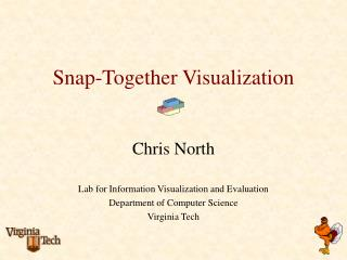 Snap-Together Visualization