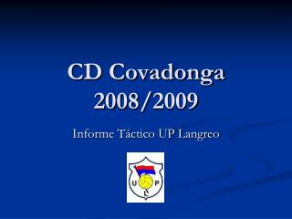 CD Covadonga 2008/2009