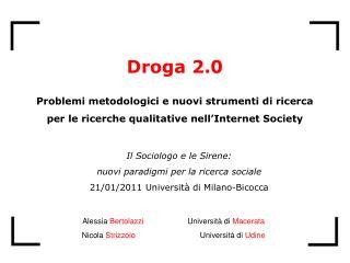 Il Sociologo e le Sirene: nuovi paradigmi per la ricerca sociale