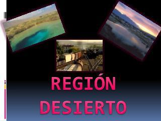 REGIÓN  DESIERTO