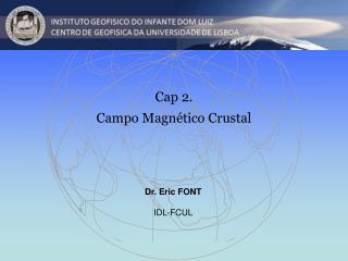 Cap 2. Campo Magnético Crustal