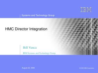 HMC Director Integration