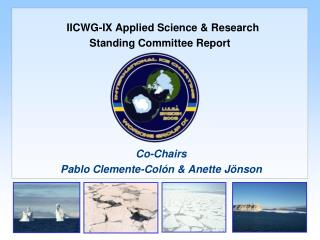 IICWG-IX Applied Science & Research Standing Committee Report