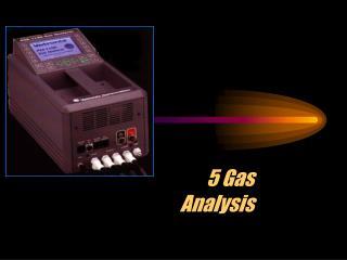 5 Gas Analysis