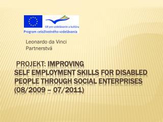 Leonardo da Vinci Partnerstvá
