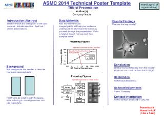 ASMC 2014 Technical Poster Template