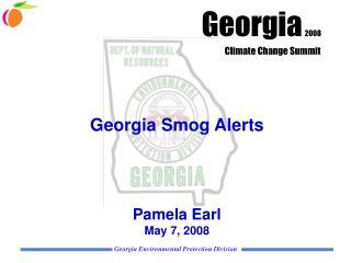 Georgia Smog Alerts