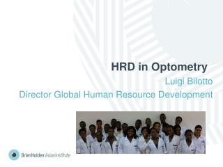 HRD in Optometry