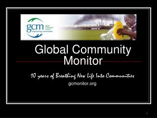 Global Community Monitor