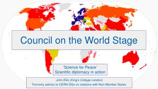Council on the World Stage