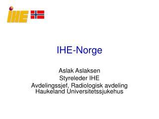 IHE-Norge