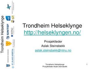 Trondheim Helseklynge helseklyngen.no/