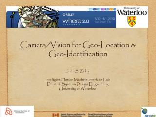Camera/Vision for Geo-Location & Geo-Identification