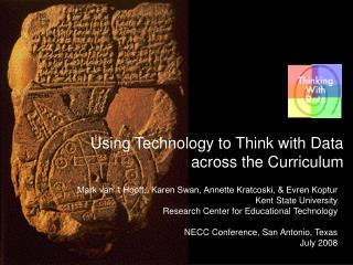 Using Technology to Think with Data across the Curriculum