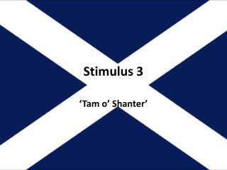 Stimulus 3