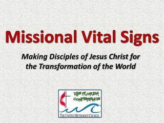 Missional Vital Signs