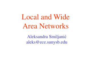 Aleksandra Smiljani ć aleks@ece.sunysb