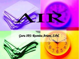 Guru IPS: Rosnita Ariani, S.Pd.