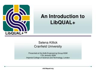 An Introduction to LibQUAL+