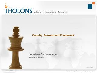 Country Assessment Framework