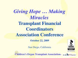 Children s Organ Transplant Association