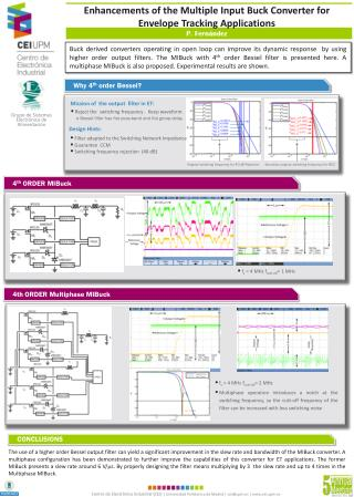 Enhancements of the Multiple Input Buck Converter for Envelope Tracking Applications