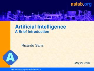 Artificial Intelligence A Brief Introduction
