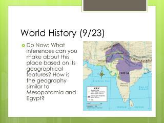 World History (9/23)