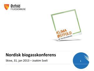Nordisk  biogasskonferens
