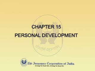 CHAPTER 15 PERSONAL DEVELOPMENT