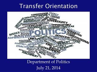 Transfer Orientation