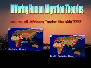 Differing Human Migration Theories