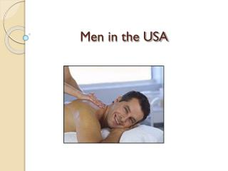 Men in the USA