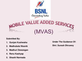 MOBILE VALUE ADDED SERVICES