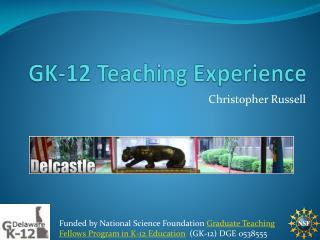 GK-12 Teaching Experience