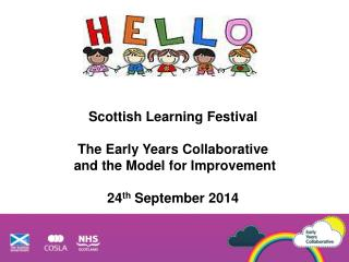 Scottish Learning Festival  The Early Years Collaborative  and the Model for Improvement